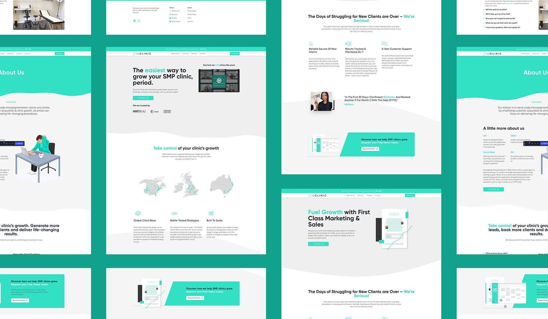 Web Design - Multi Page Website